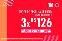 PASTILHAS DE FREIO- TORO FLEX