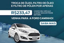 TROCA DE ÓLEO NEW FIESTA