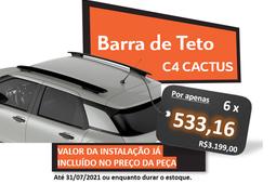 Barra de Teto C4 CACTUS