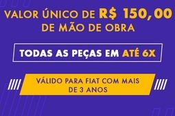 Mão de Obra R$150,00