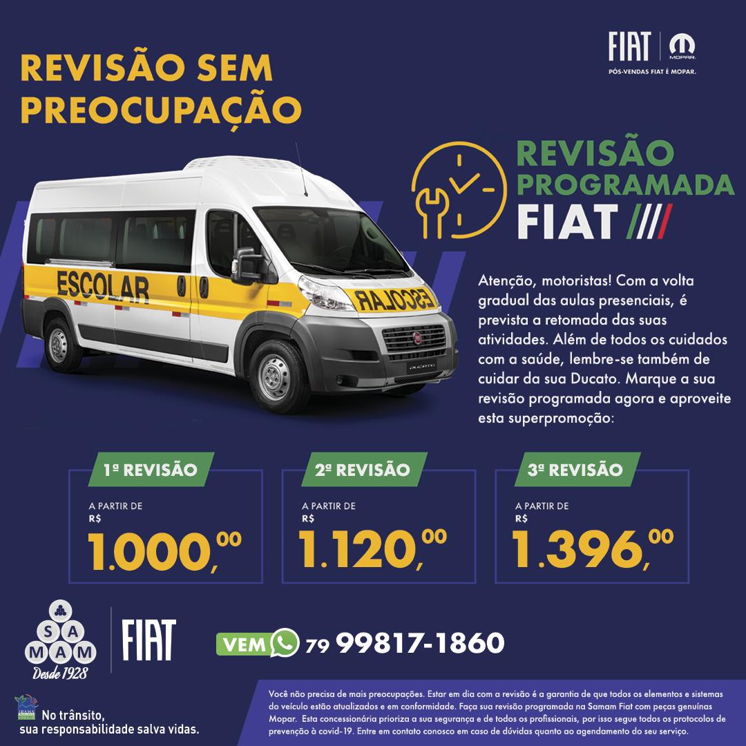REVISÃO PROGRAMADA - DUCATO