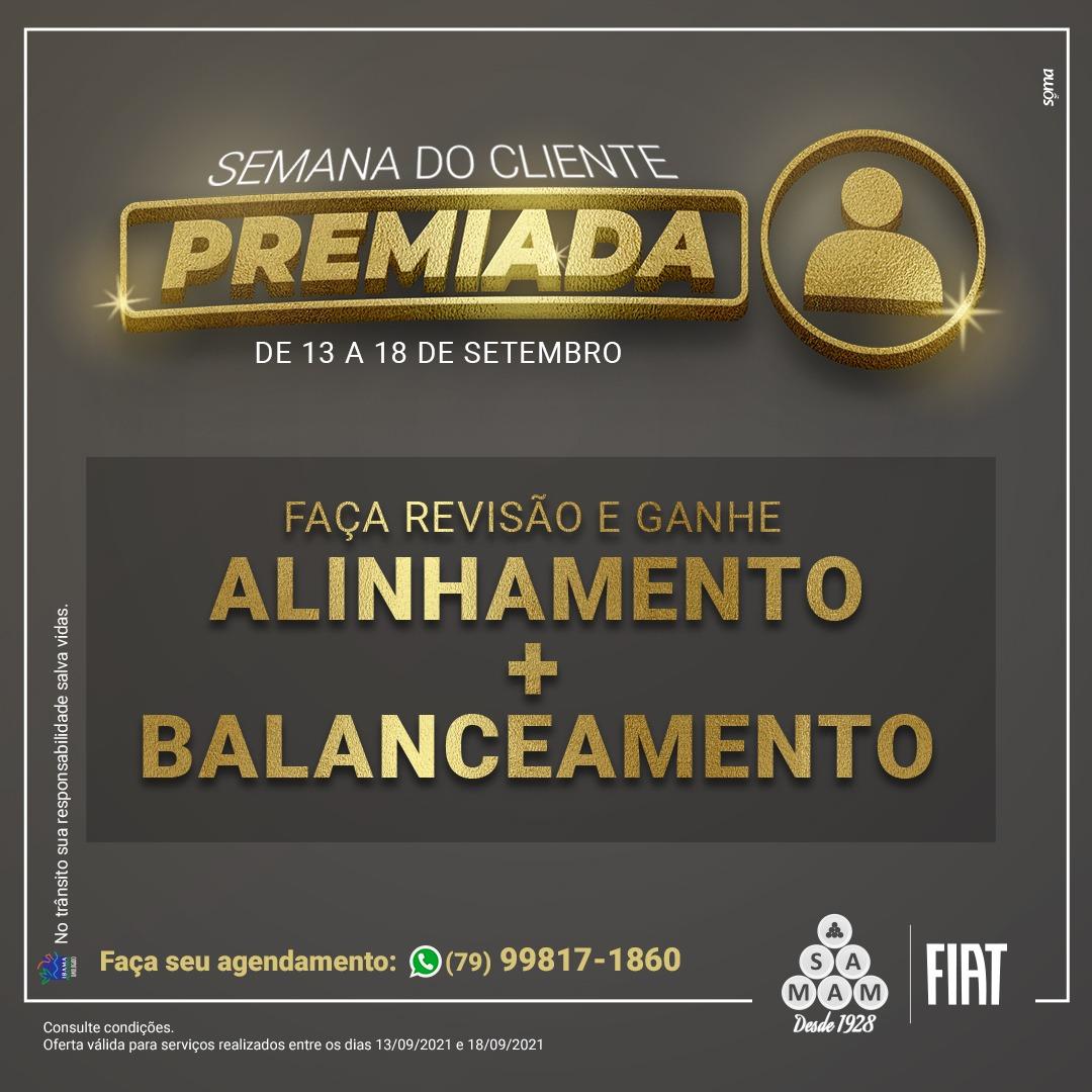 SEMANA DO CLIENTE PREMIADA