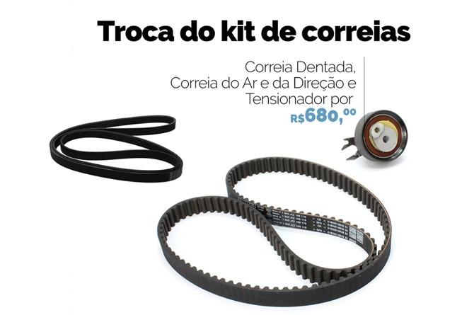 Troca do Kit Correias VW