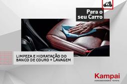 LIMPEZA+HIDRATAÇÃO BANCO DE COURO+LAVAGEM