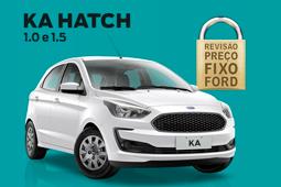 Revisão Preço Fixo - KA Hatch 20 mil KM