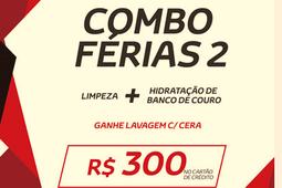LIMPEZA E HIDRATAÇÃO BANCO DE COURO