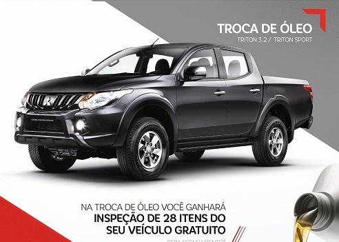 TROCA DE ÓLEO LINHA TRITON