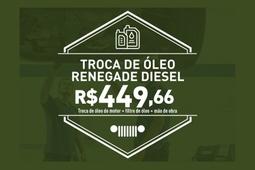 Troca de óleo Renegade Diesel