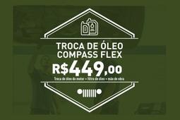 Troca de óleo Compass Flex