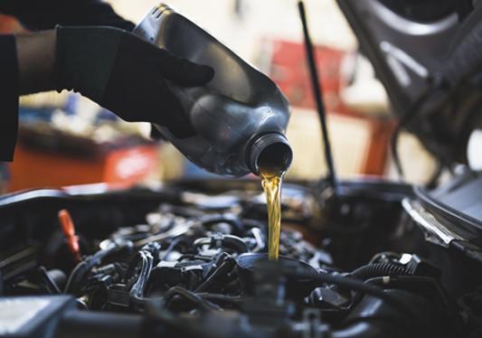 Promoção troca de óleo