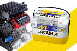 Bateria Moura Civic / HR-V