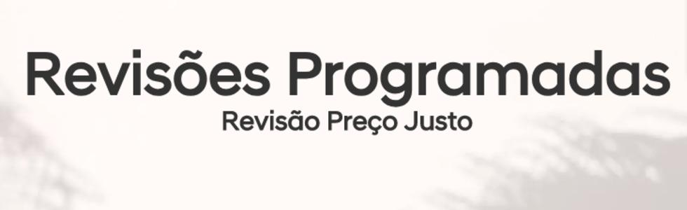 Revisões Programadas