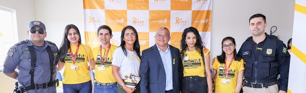 Motoca apoia inicio da campanha 'Maio Amarelo' em Imperatriz