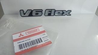 EMBLEMA, V6 FLEX