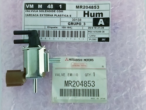 Válvula Solenoide,L200 Outdoor até 2011
