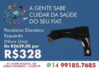 PARALAMA DIANTEIRO ESQUERDO (Novo Uno)
