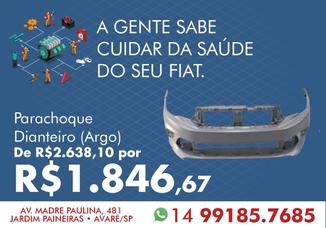 PARACHOQUE DIANTEIRO (Argo)