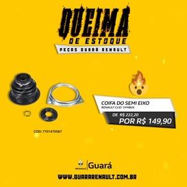 COIFA DO SEMI EIXO CLIO/ SYMBOL