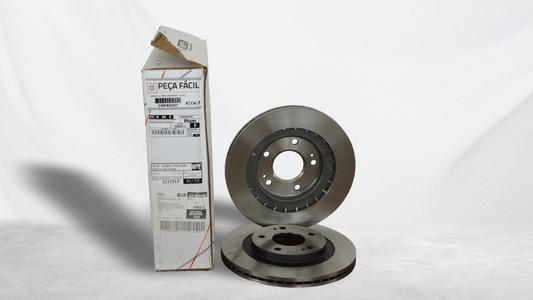 Conjunto disco de freio dianteiro Pajero TR4
