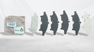 Jogo calço pastilha de freio L200 Triton todos os modelos
