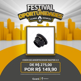 COXIM DO AMORTECEDOR MASTER 2.3