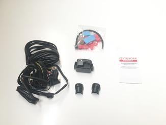 Kit Alarme Ultrassônico Key Less - Corolla