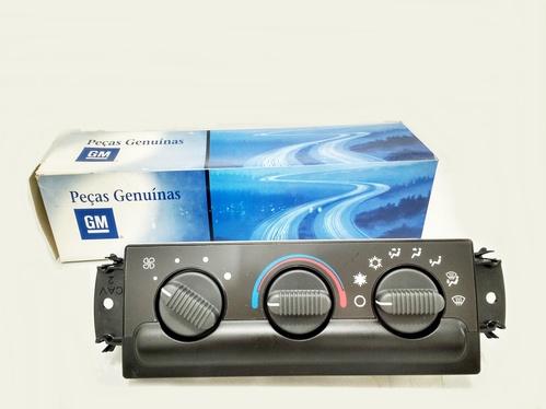 Painel de controle do ar condicionado