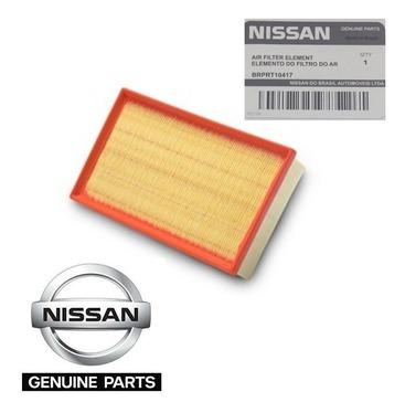 Filtro Ar Motor Genuíno Nissan Versa March Sentra