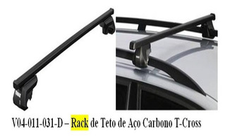 Rack De Teto De Aço Carbono T-cross V04-011-031-d