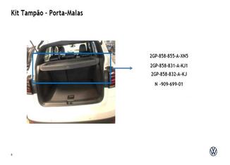 Tampão Traseiro Para Volkswagen T-cross 2020 2gp867769uv6