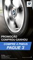 Promoção comprou ganhou - Pneus BMW