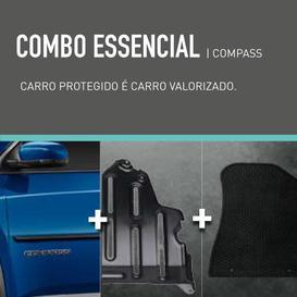 COMBO ESSENCIAL COMPASS (FRISO + PROTETOR DE CÁRTER + TAPETE DE BORRACHA)