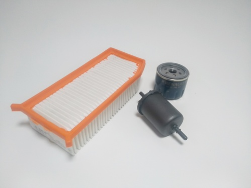 Kit Básico De Filtros- Para Revisão