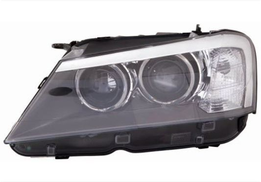 Farol de dupla luz de xenon para BMW X3