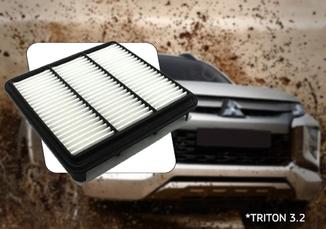 FILTRO AR DO MOTOR TRITON 3.2