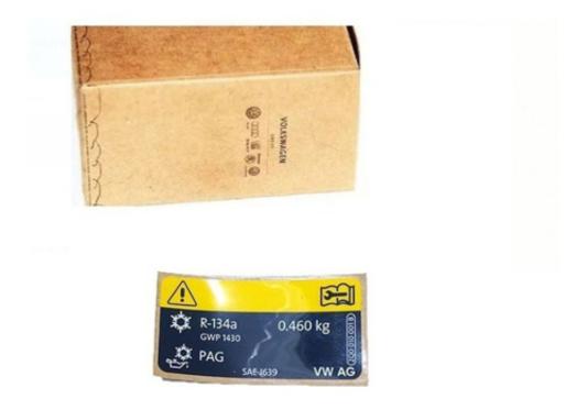Etiqueta de Identificação Refrigeração Volkswagen 5QE010008A