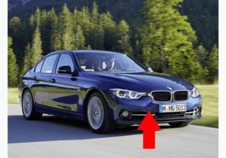 Para-choque dianteiro BMW Serie 3