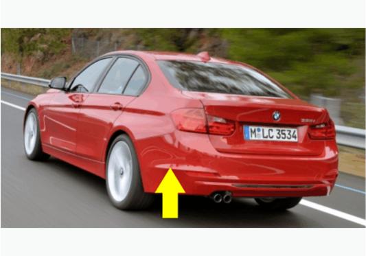 Para-choque traseiro para BMW Serie 3 F30