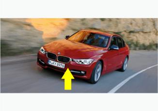 Para-choque dianteiro BMW Serie 3 F30 e F80