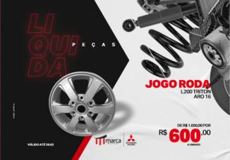 JOGO RODA L200 TRITON ARO16