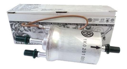 Filtro De Combustível Jetta 2.0 Flex 4 Bar Original Vw 1K0201051L