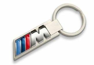 CHAVEIRO COM LOGOTIPO BMW M
