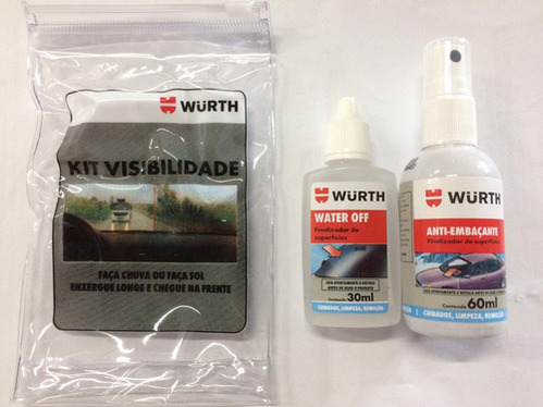 Kit Visibilidade Anti-embaçante E Water Off Wur001409