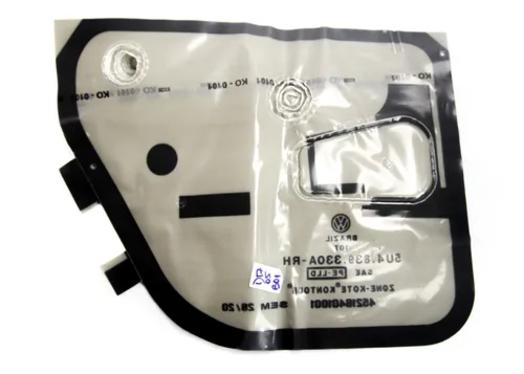 Capa De Proteção Da Porta Traseira Lado Direito Vw Gol 5U4839330A