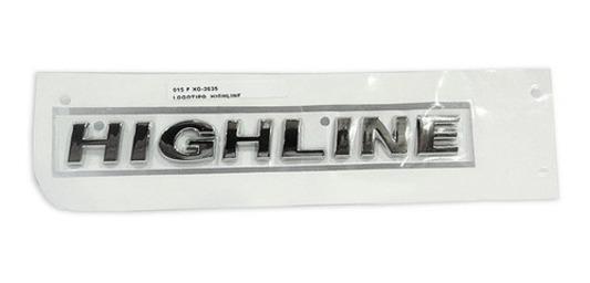 Emblema Letreiro Highline Lateral Gol Fox Voyage Saveiro 5Z0853685K739