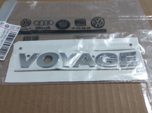 Emblema Letreiro Voyage G6 G7 - Original Volkswagen 5U5853687B739