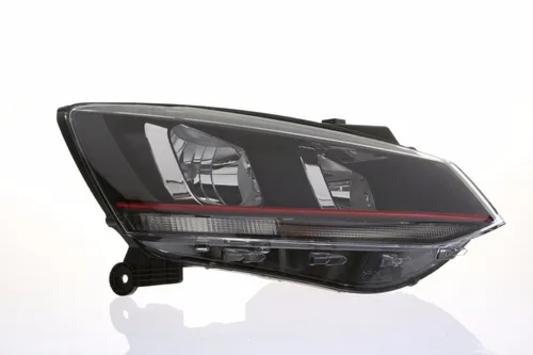 Farol Dianteiro Lado Direito Vw - Volkswagen Fox 5Z0941008D