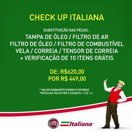 Check up Italiana