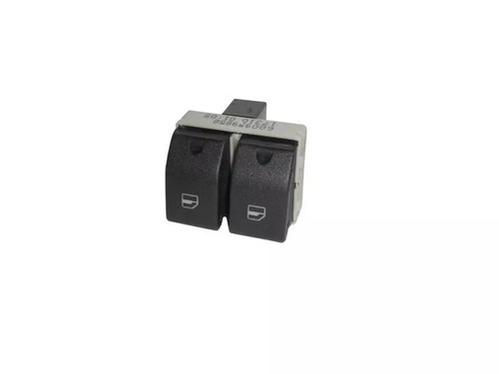 Interruptor Duplo Acionamento Vidro Vw Fox Gol Polo 6Q09598589B9