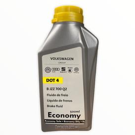 Fluído De Freio Dot 4 500ml Economy Volkswagen BJZZ700Q2